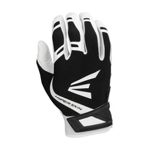 Load image into Gallery viewer, EASTON ZF7 VRS HYPERSKIN BATTING GLOVES WHITE BLACK