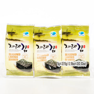 Seasoned Lavered Seaweed