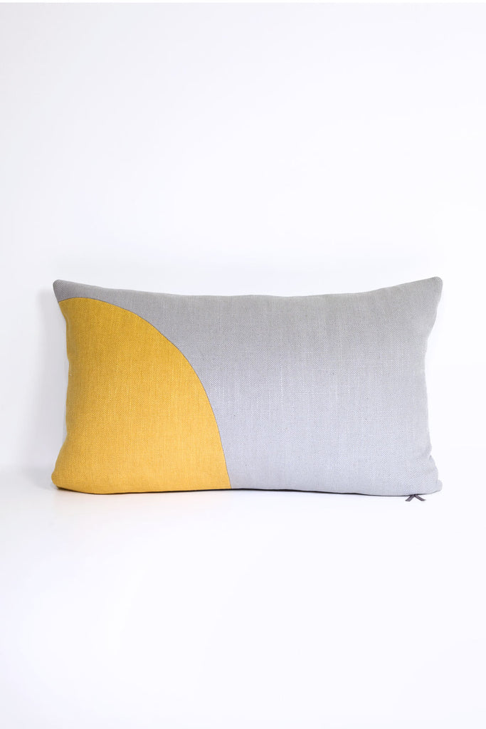 Curve Cushion - Yellow
