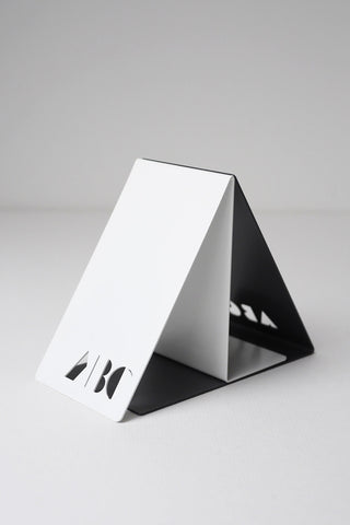 Block ABC Bookends Black/ White