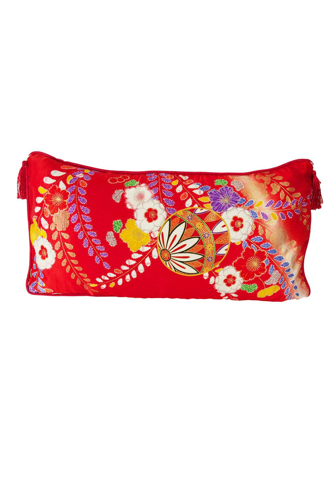 Bauble & Flowers Oblong Cushion