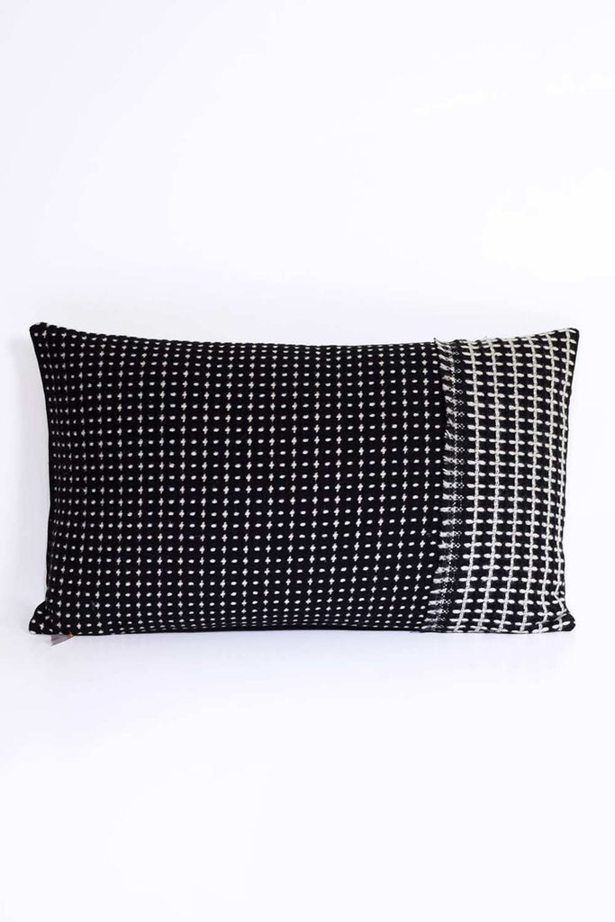 Black Tweed Cushion