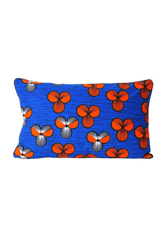 Blue Clover Cushion