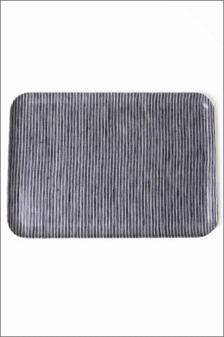 Fog Linen Tray - Grey