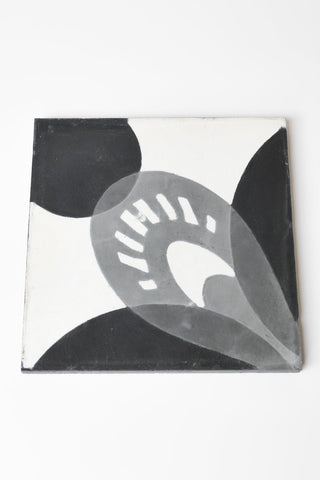 Grey Bloom Tile
