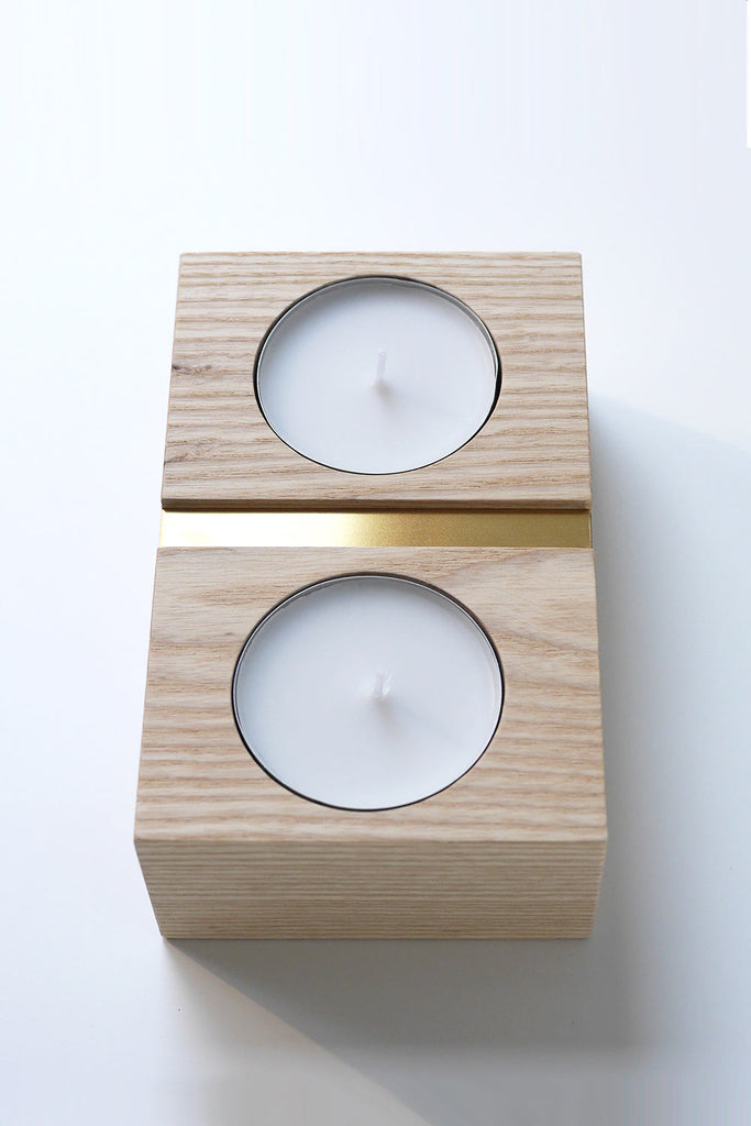 Groove Block Candle