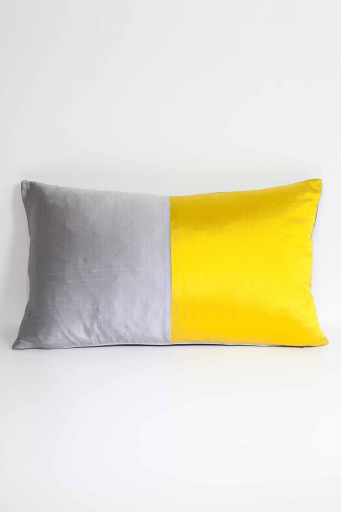 Half Silk Cushion - Sunflower