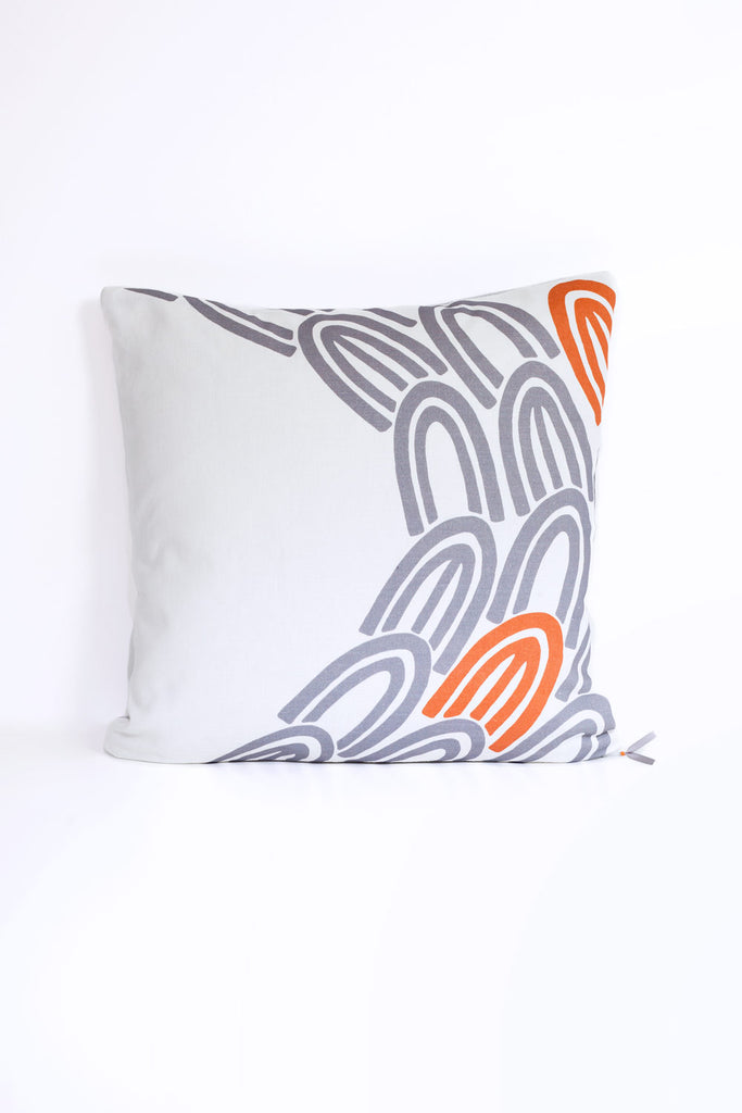 Orange U Cushion