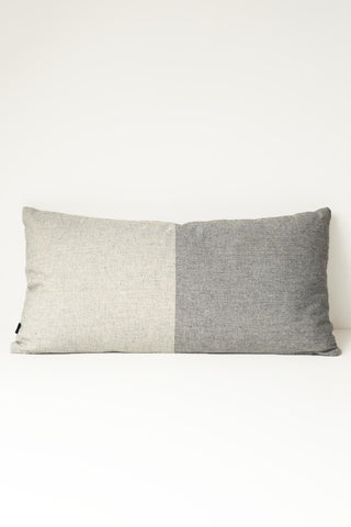 Two Tone Cushion-grey