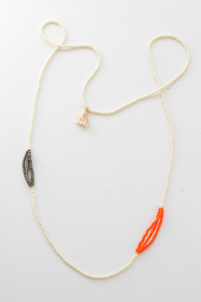 Usuku Orange Necklace