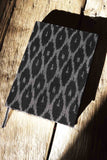 Black & Grey Ikat Journal