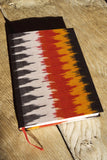 Orange Ikat Journal