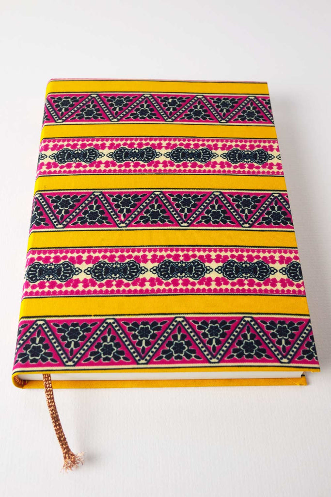 Yellow Stripe Journal