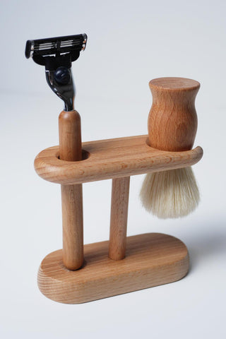 Redecker Beechwood Shaving Set