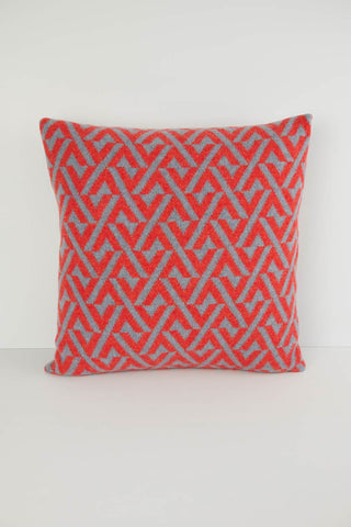 Geo Knitted Cushion - Square