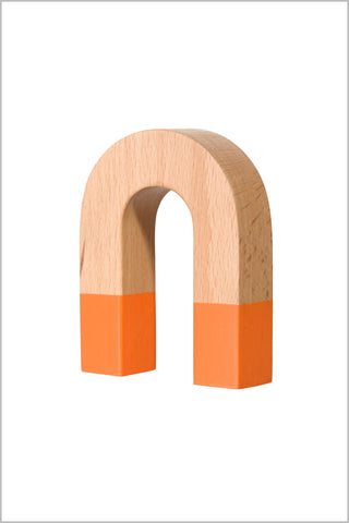 Areaware Horseshoe Wooden Magnet