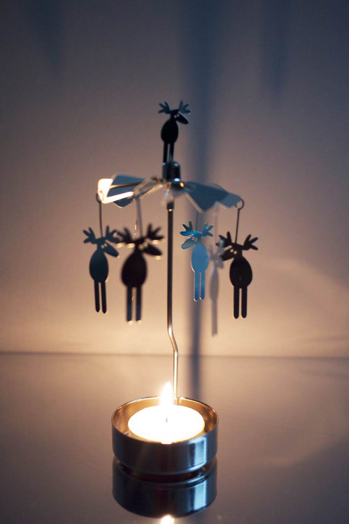 Moose Rotary Candle