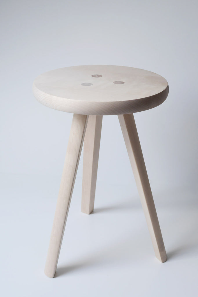 Solid Birch Stool