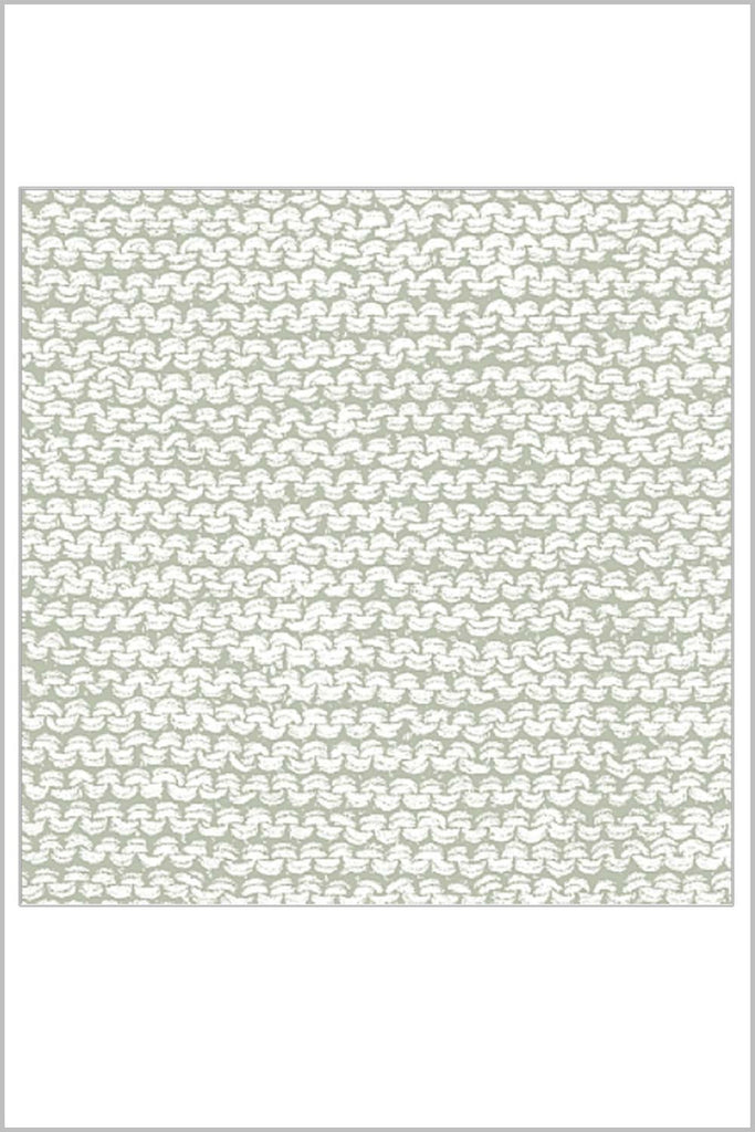Taupe 'Knitted Look' Napkin