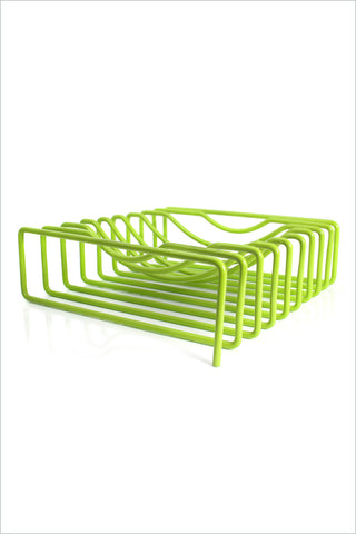 Wire Fruit Bowl - Lime