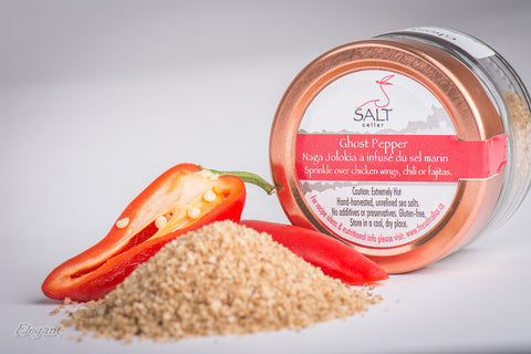 Ghost Pepper - Naga Jolokia Infused Sea Salt