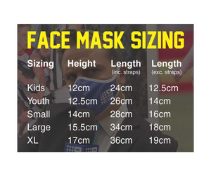 Footy Face Masks