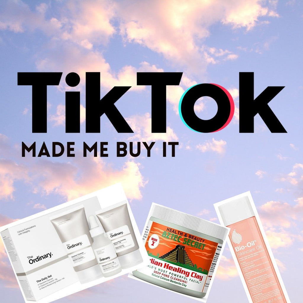 6 BEAUTY PRODUCTS TIKTOK MADE ME BUY