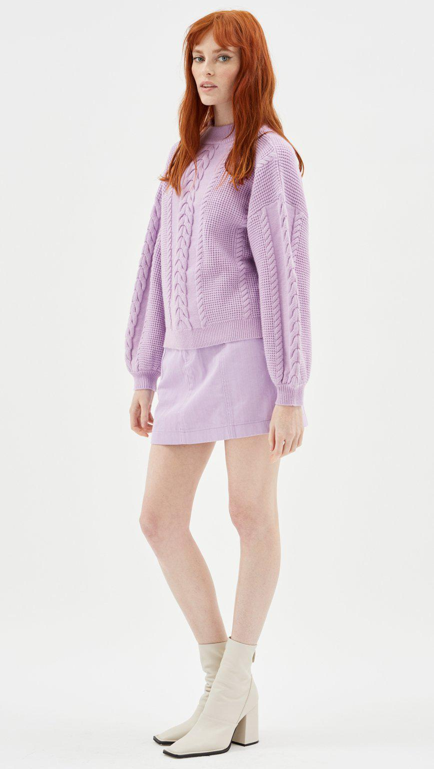 Mindy Cable Knit Jumper