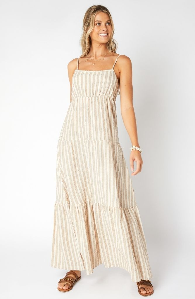 SWAY TIERED MAXI DRESS