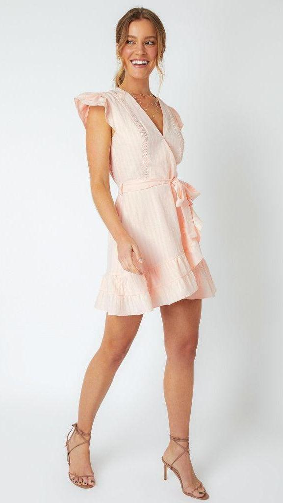 Sandra Textured Mini Dress