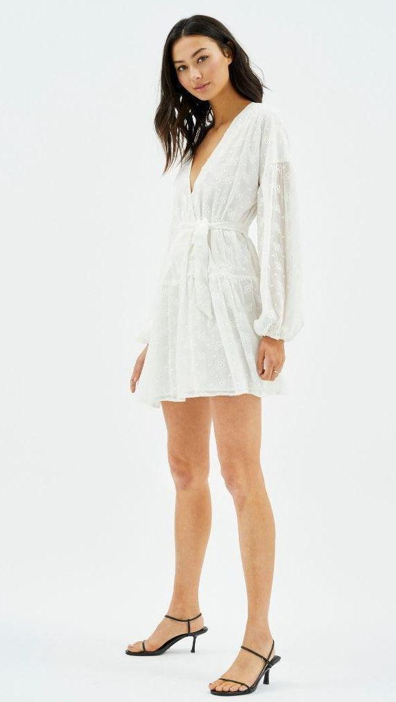 Ashlyn Drop Waist Mini Dress