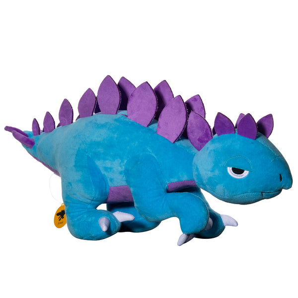 Purple and Blue Stego Plush Toy