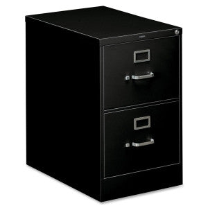 Two Drawer Vertical - Legal - Black