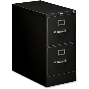 Two Drawer Vertical - Letter - Black
