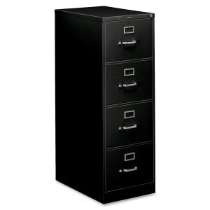 Four Drawer Vertical - Legal - Black
