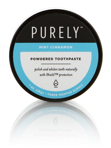 Mint Cinnamon Powdered Toothpaste