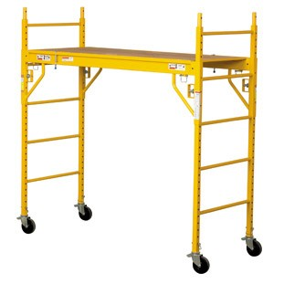Circle Brand 6' Steel Rolling Tower Scaffold