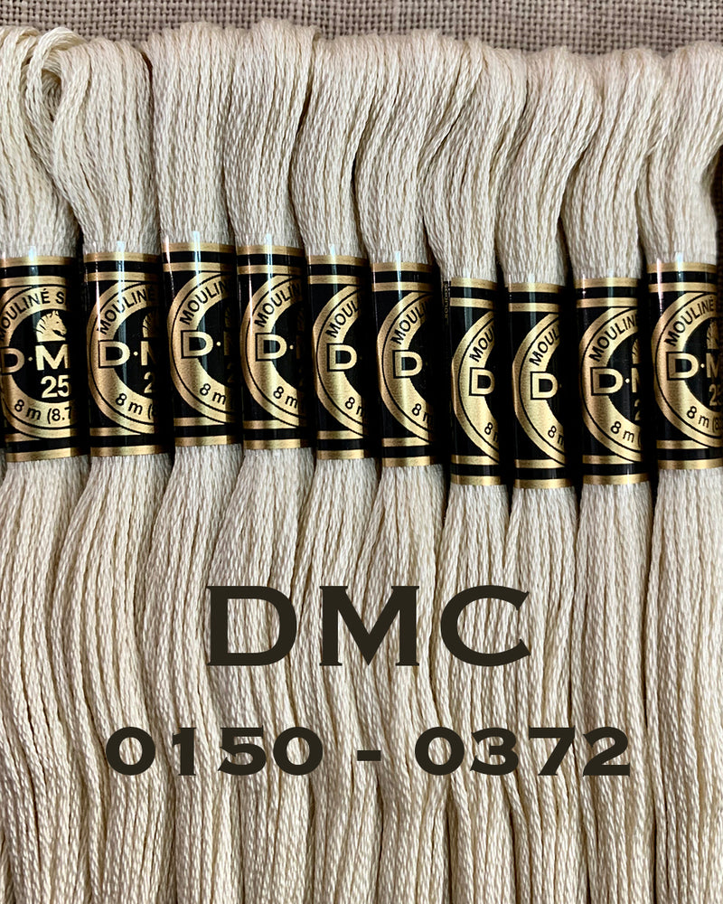 DMC 6ply Stranded Cotton - Pge2