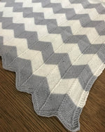 Chevron Blanket for Baby