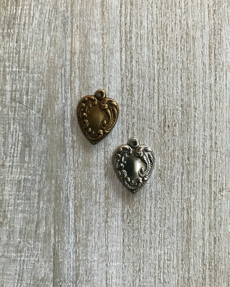 Fancy Heart Charm