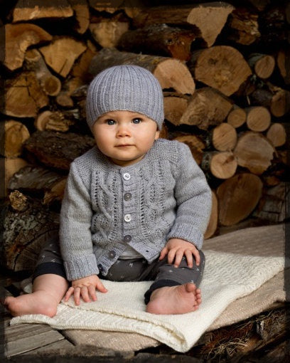 Jasper Cardigan and Beanie