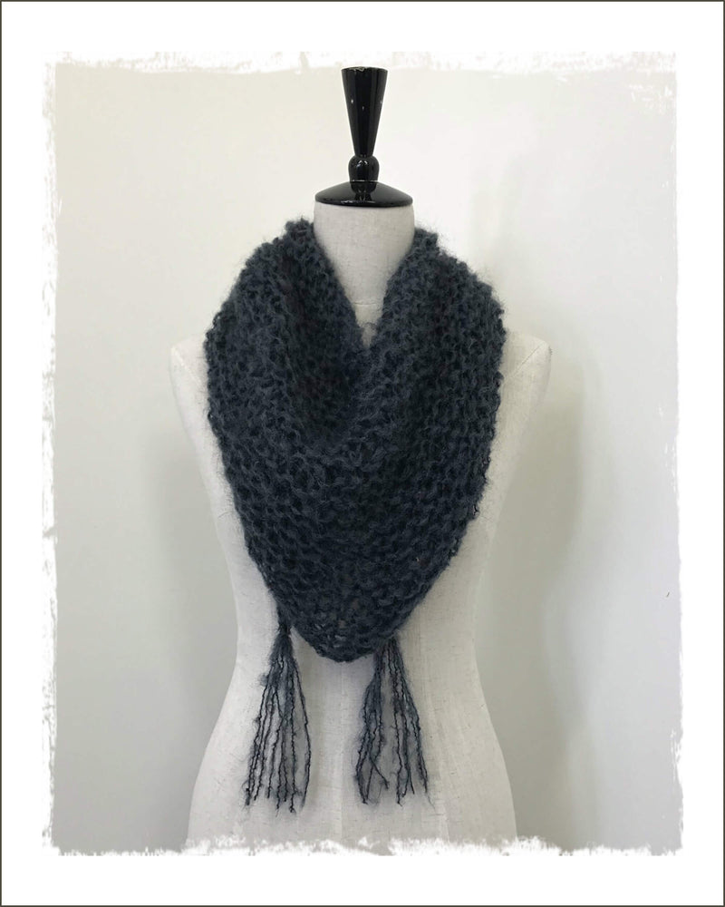 Soft & Lofty Mohair Scarf