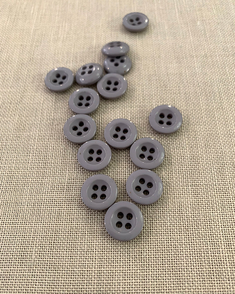 Grey 4 Hole Button