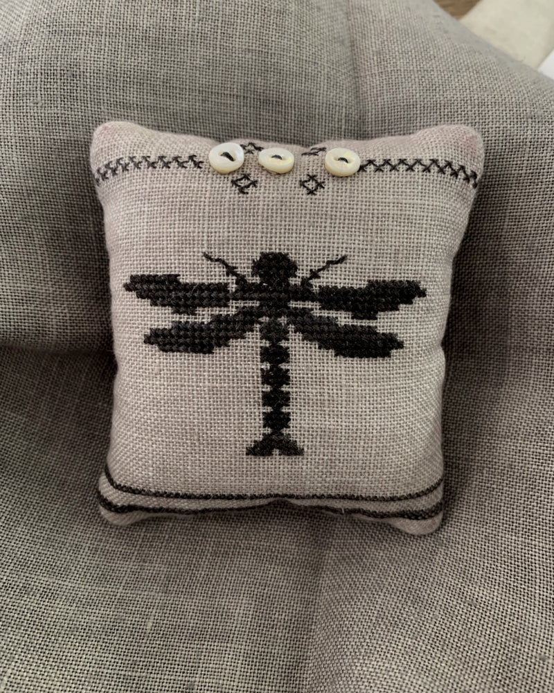Dragonfly Pin Pillow