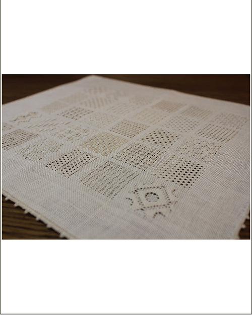 Danish Pulled Thread Sampler