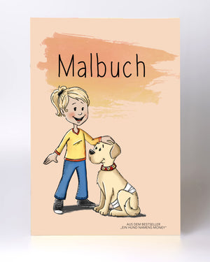 Malbuch – Ein Hund namens Money
