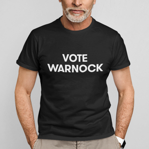 Vote Warnock T-shirt