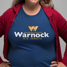 Load image into Gallery viewer, Warnock for Georgia Logo T-Shirt