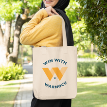 Load image into Gallery viewer, Win with Warnock Tote