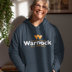 Warnock for Georgia Logo Hoodie